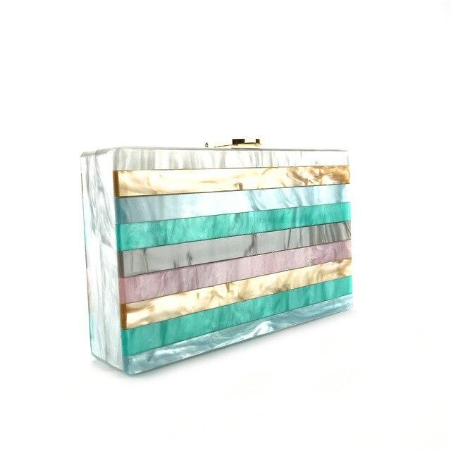 2018 Acrylic Clutch Bag Bolsa Feminina Luxury Handbags Women Crossbody Bags For Designer Bolsos Mujer Sac A Main Drop Shipping 2