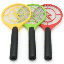 2019 Hot Sale Mosquito Killer Electric Tennis Bat Handheld Racket Insect Fly Bug Wasp Swatter Operated Electric Hand Racket(China)