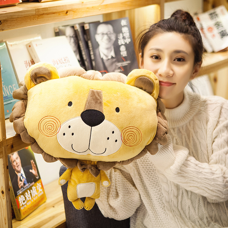 candice guo! cute plush toy cartoon forest animal lion monkey bear cat cushion hand warm blanket birthday Christmas gift 1pc brett kustigian mission driven educational leadership does it matter