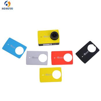 Naprawa części panel kamera nurkowa DV osłona ochronna obudowa do xiaomi yi 2 4K 4K + akcesoria do kamer sportowych tanie i dobre opinie SOSOYO GP0183 Płyta czołowa Pakiet 1