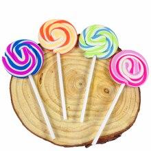 30ชิ้น/ล็อตใหม่Lollipop Eraser Candyตลกยางยางลบสำนักงาน & การศึกษาเด็กของขวัญขายส่ง