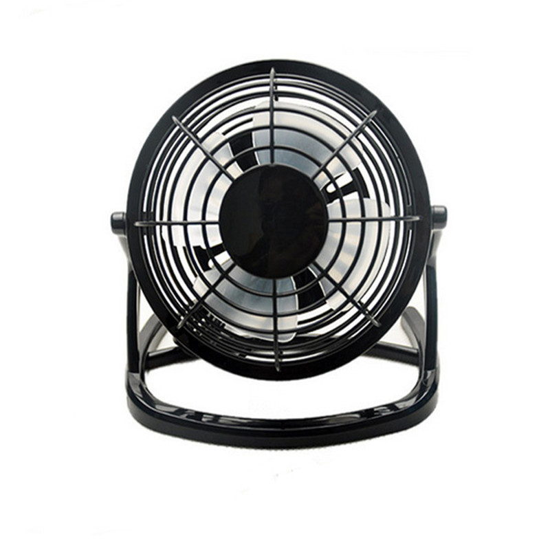 USB Mini Fan Powered Notebook Desktop Cooling Fan Cooler Plastic Air Conditioning Appliances For PC Laptop Computer Black 4 Inch 1pc new laptop cpu cooler heatsink cooler radiator laptop water cooling fan for pc notebook computer cooling aluminum r360 black