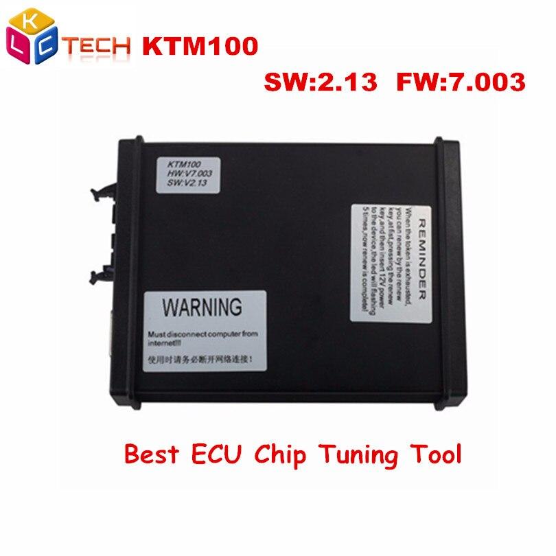 Prix pour Aucun Jeton Limitation KTAG V7.003 Ktag V2.13 V2.13 FW V7.003 KTM100 KTAG K-TAG Programmation de L'ECU Outil Maître Version Chip Tuning