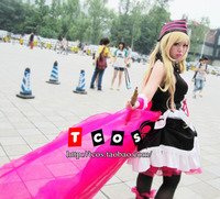Free Shipping! Macross F Sheryl Nome Queen Sagittarius Magazine Gorgeous Dress Cosplay Costume ,Perfect customized for you!