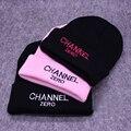 Fashion CHANNEL ZERO Шапочка Мужчины Повседневная Хип-Хоп Шапки Вязаные Skullies Шапочка Hat Теплые Зимние Шапки для Женщин MZ021