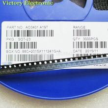 100 шт./лот AO3401A AO3401 3401 A19T СОТ-23 4.2A/30V P-канал SMD MOSFET транзисторный Триод