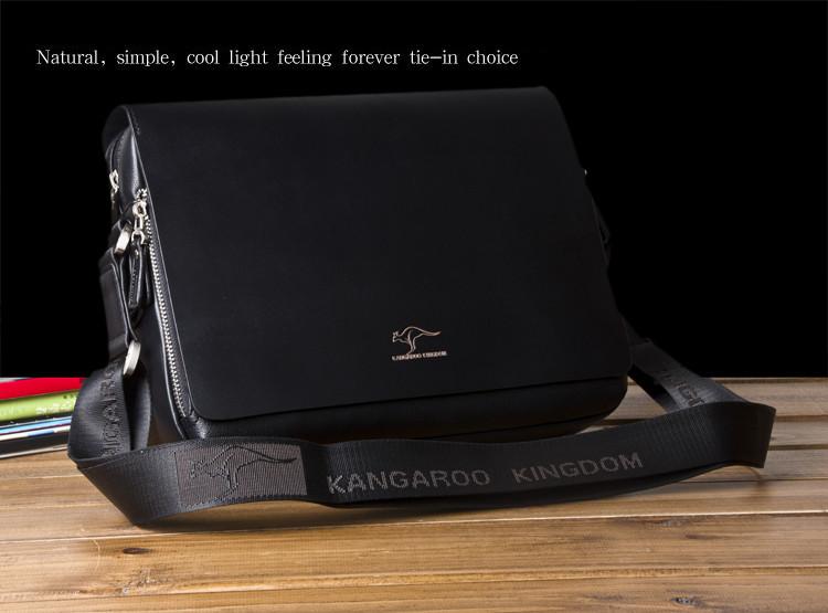 New Arrived luxury Brand men's messenger bag Vintage leather shoulder bag Handsome crossbody bag handbags Free Shipping 19