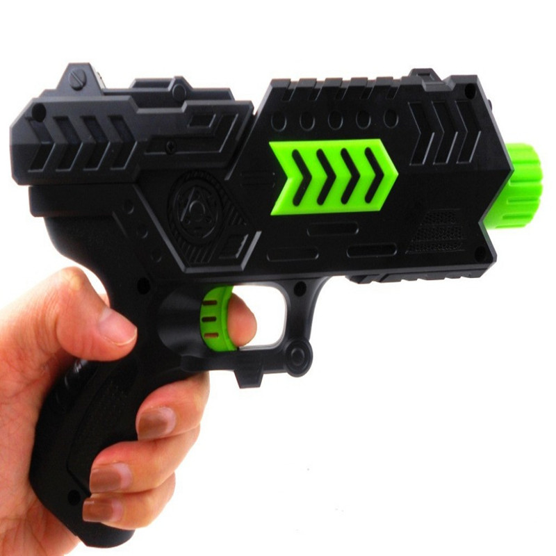 Wish | Paintball Soft Gun Water Orbeez Gun EVA Bullet + Water Bomb  Dual-purpose Pistol Bursts of Crystal Toy Shooting Nerf