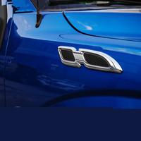 3D High Quality Cool Hook Fender Imitation Air Outlet Vent Sticker For Ford Raptor F150 ACA030