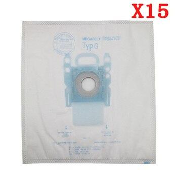 15 قطعة / السلع فراغ نظافة g نوع القماش أكياس الغبار نوع g لبوش و سيمنز BSG7 BSGL3126 BSG6 1