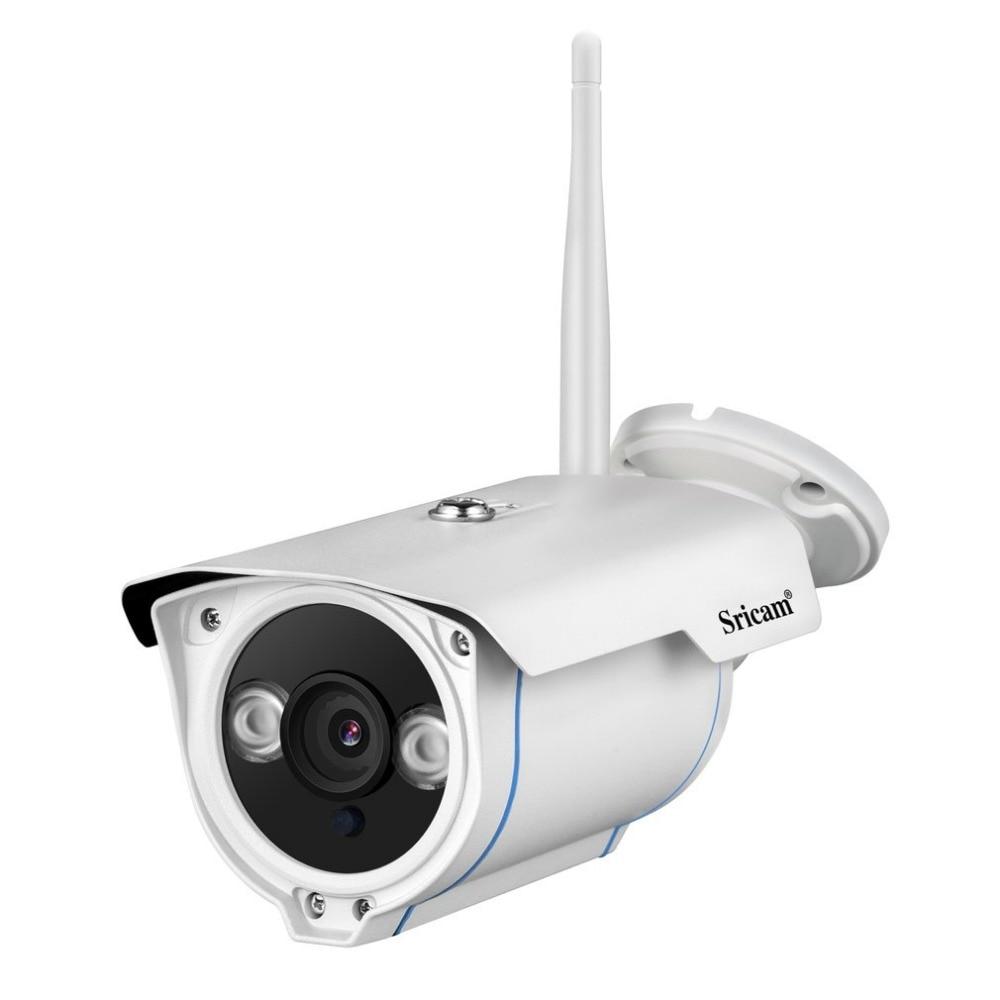 Sricam SP007 HD 720 IP Camera Wireless WIFI 2.4 P2P Onvif SD Card Outdoor Waterproof IP Cam Night Version IR Cut