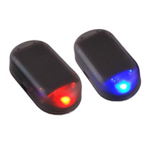 Universal Simulation Alarm Led Light Security Car Alarm Lamps Fake Solar System Warning Theft Flash Blinking(China)