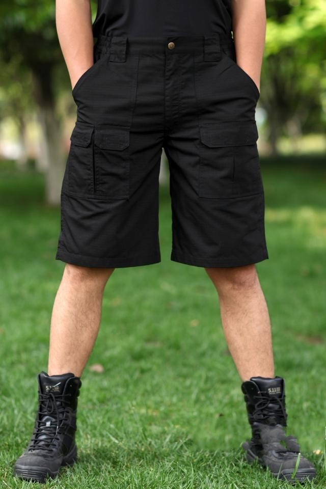 Outdoor tactical army shorts models plaid plaid outdoors tactical military fans khaki