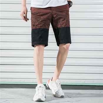 2019 New Men Shorts Summer Mens Hot Cotton Casual Quality Bottom Elastic Waist Fashion Brand