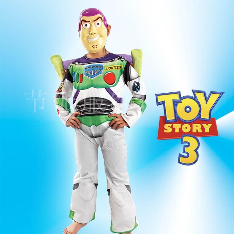Halloween Men E Children Buzz Light Year Toy Story Performance Costume