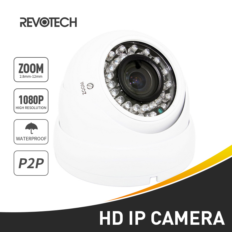 bilder für Wasserdichte 1920x1080 P 2.0MP 2,8-12mm Zoom IP Kamera 36 LED Outdoor-überwachungskamera ONVIF Nachtsicht P2P CCTV Cam mit IR-Cut
