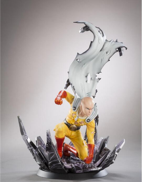 24cm ONE PUNCH MAN Saitama Anime Cartoon Action Figure PVC toys Collection figures for friends gifts