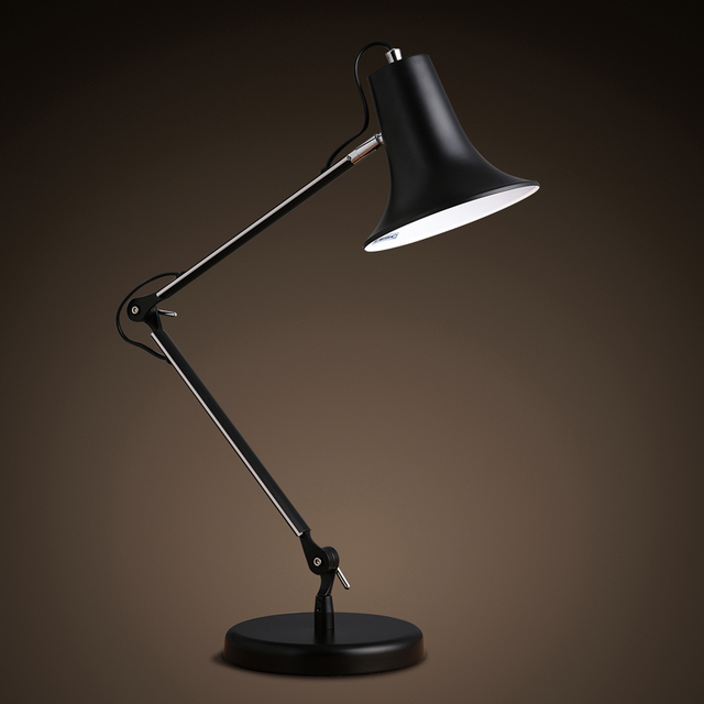office desk lighting. the nordic modern minimalist style iron lamp reading office desk folding arm lighting