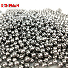 100pcs the projectile 9mm Steel Balls Bow Professional slingshot ammo outdoor Slingshot bullets used for hunting bow sales