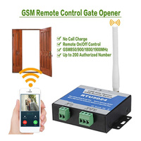 GSM Gate Opener Relay Switch Wireless Door Opener Remote Control Door Access Kit By Free Call 850/900/1800/1900MHz RTU5024