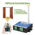 GSM Portão Opener Interruptor do Relé Sem Fio Da Porta Remoto Abridor De Porta de Controle de Acesso Kit Por Chamada Gratuita 850/900/ 1800/1900MHz RTU5024