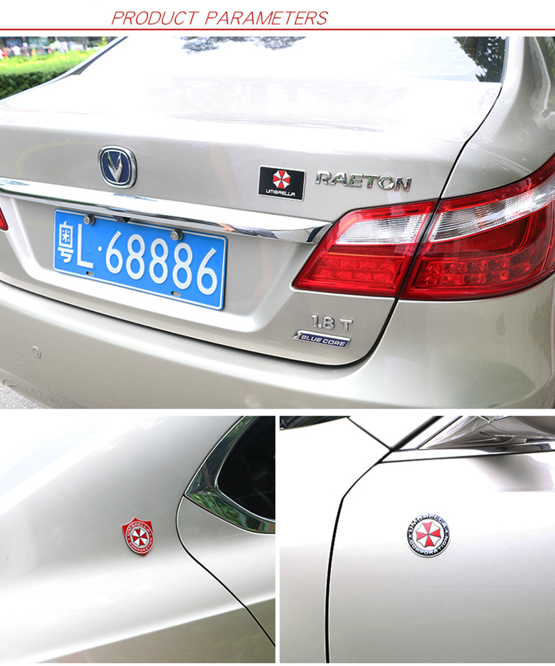 Auto 3D Aluminium LUXURY LIMITED EDITION Emblem Decal Badge Sticker US TT