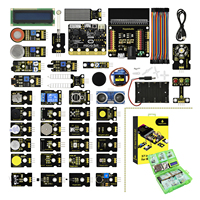 Keyestudio 37 in 1 Sensor Starter Kit With Micro:Bit Board for BBC Micro:Bit DIY Projects (Including Micro:Bit Board )