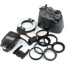 Meike MK-14EXT i-TTL Macro LED Ring Flash Light for For Nikon d3 d4 D90 D800 D7000 D5200 d300 d600 d700 d750 d800 camera(China)