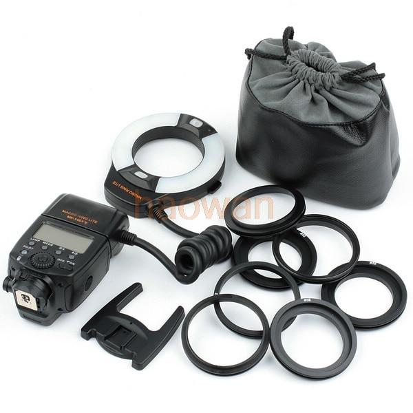 Meike MK-14EXT i-TTL Macro LED Ring Flash Light for For Nikon d3 d4 D90 D800 D7000 D5200 d300 d600 d700 d750 d800 camera