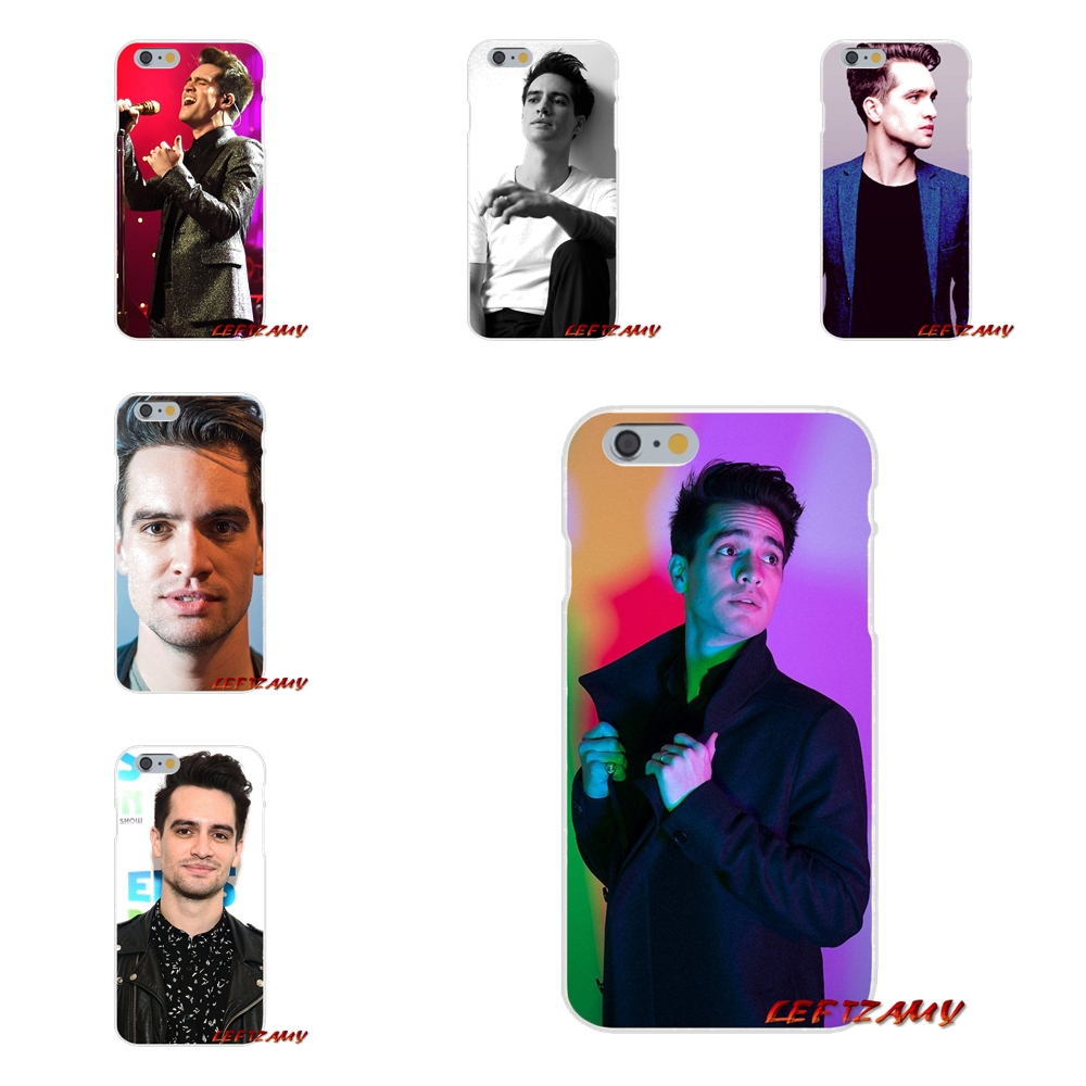 For Samsung Galaxy S3 S4 S5 MINI S6 S7 edge S8 S9 Plus Note 2 3 4 5 8 Brendon Urie Panic! At The Disco Soft Phone Case Silicone