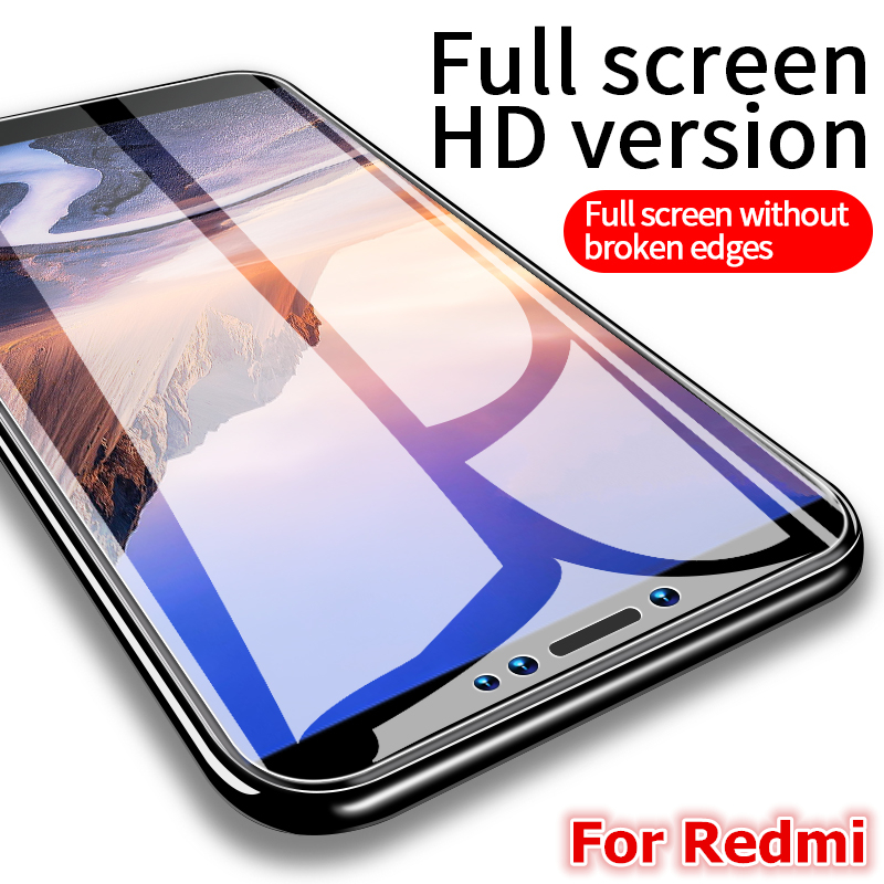 Proteção de vidro temperado para xiaomi redmi nota 7 pro xiomi redmi 7 redmi nota 8 pro protetor de tela cheia vidro xiaomi redmi