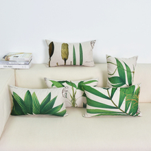 Watercolor Plants Printed Pillow Cases