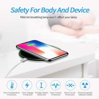 15W QI Quick Charging Wireless Fast Charger Usb Tpye C 10W QC 3.0 Charge For iPhone 11 Pro XS XR X 8 Samsung S10 S9 Xiaomi mi 9 3