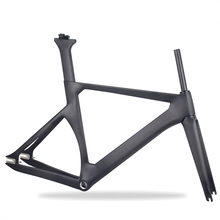 2018 Aero Design Track Bikes Carbon Frame Fixed Gear Bicycle Carbon FrameSet With Wheel 700*23C trex 700 carbon main frame l 2 0mm hn7026 align trex 700 parts free shipping with tracking