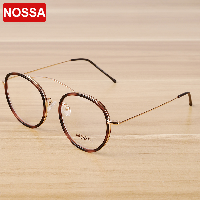 NOSSA Women & Men's Transparent Glasses Frame Elegant Brand Designer Eyewear Frames Fashion Casual Female Clear Optical Glasses