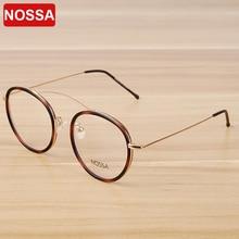 NOSSA Women & Men's Transparent Glasses Frame Elegant Brand Designer Eyewear Frames Fashion Casual Female Clear Optical Glasses