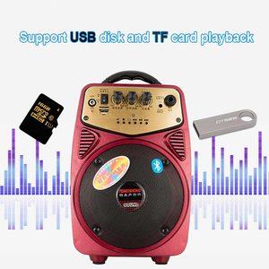 Image 3 - Alto falante portátil sem fios, alto falante de alta potência com bluetooth, amplificador para microfone, bateria de lítio, suporte a cartão tf, usb, play, coluna