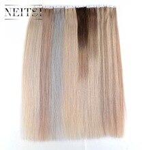 """Neitsi Мини Сердце ленты в человеческих волос Piece 20 """"2.0 г/шт. 40 шт. природные прямо уток кожи Реми волос расширения 13 Цветов доступны"""