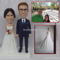 Turui фигурки пользовательские Вечерние DIY украшения указатели коробка конфет свадебные подарки сувениры гостей невеста жених подарок