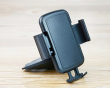 Portable Rotary Car CD Slot Dash GPS Tablet Mobile Phone Mount Stand Holders For LG Stylus