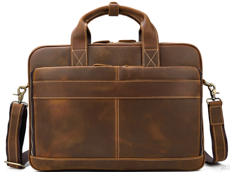 Multi-Function Men Genuine Leather Briefcases Male High Capacity Business Bags Outdoor Travel Cowhide Vintage Handbags D835(China)