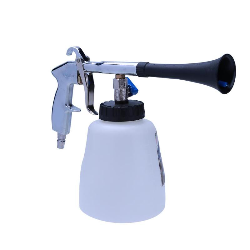 High Pressure Spray Gun Tornado Tube Cleaning Gun Portable Car Interior Foams Gun Household Washing Pump Car Tools Water Gun New metal hose nozzle high pressure water spray gun sprayer garden auto car washing