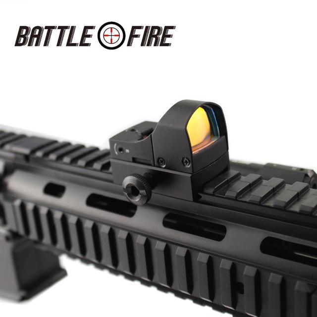 Micro Collimator red dot Sight for Rifle Holographic Compact  Tactical riflescope hunting scope