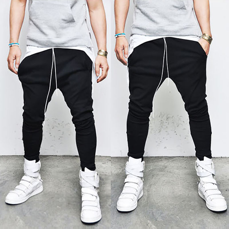 2017 Envmenst Brand Designer Tight Jogger Jeans Top Fashion Slim Casual Pencil Pants Elasticity Street Wear Hip Hop Pants 2017 brand new men fashion slim fit jeans casual close fitting pants youth hip hop light elasticity pants