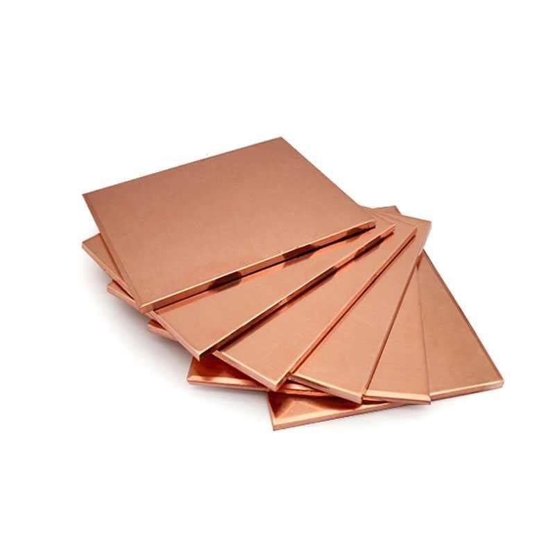 عالية الجودة سمك 1.0/2.0/3.0*150*150 مللي متر T2 شريط نحاسي الأحمر النحاس سادة النحاس احباط لوح نحاسي CNC DIY المواد