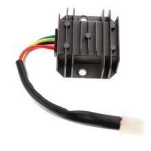 1 шт. 12 В 4 провода регулятор напряжения Выпрямитель двигатель мотоцикла/лодки/ATV 125cc-150cc Байк/Quad и т. д. мотоцикл электрический