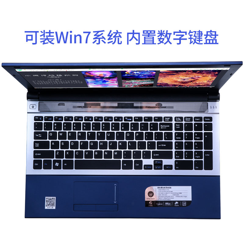 """כורסאות טלויזיה P8-07 כחול 8G RAM 512G SSD Intel Pentium N3520 15.6"""" מחשב מחברת המשחקים הנייד DVD הנהג HD מסך עסקים (5)"""