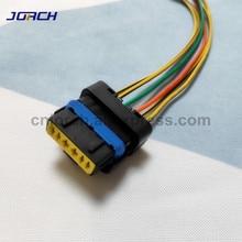 1 комплект 6 Pin способ дроссельной заслонки провода жгут женский водонепроницаемый Электрический разъем с косичкой для Renault peugeot Citroen