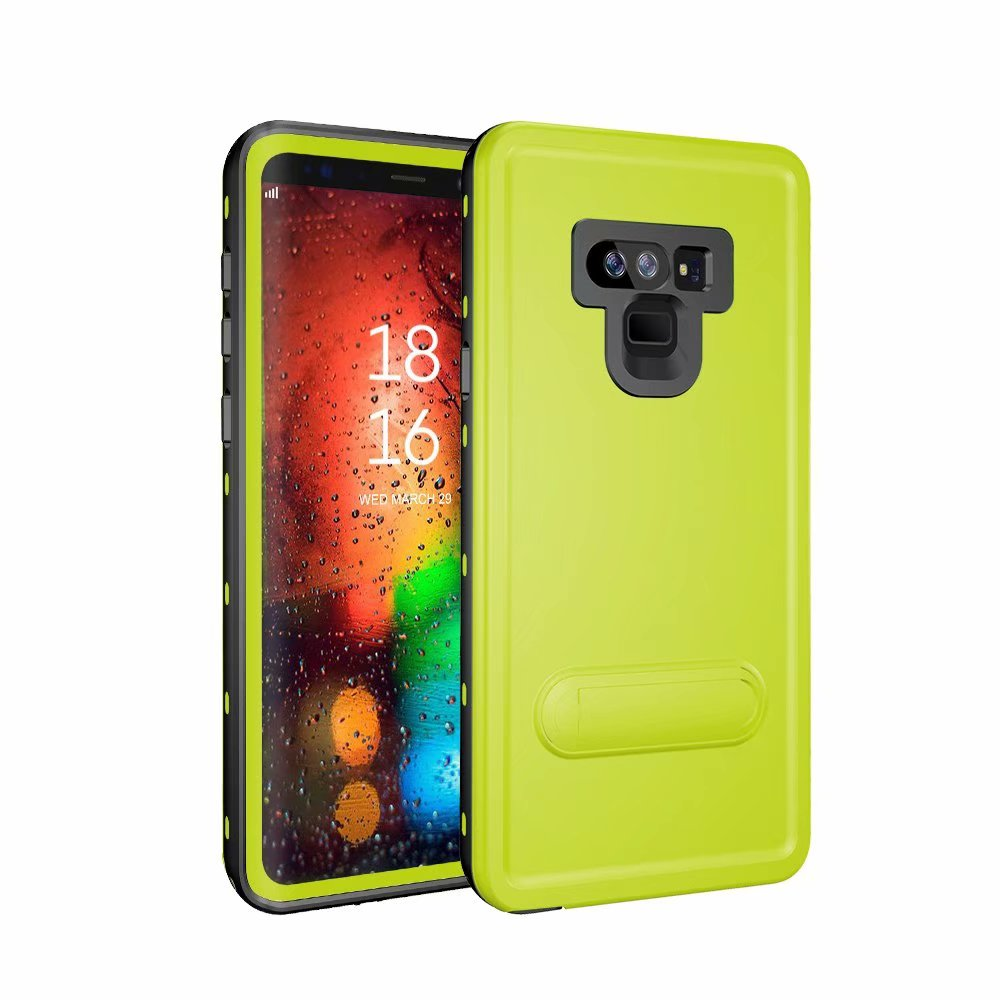 Original Waterproof Case for Samsung Galaxy Note 9 Case Luxury Hard PC Holder Back Cover For