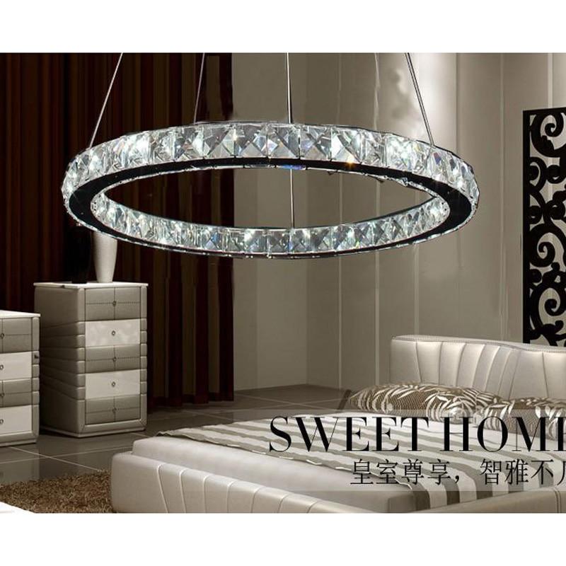 Modern Copper Ring Led Pendant Lighting 10758 Shipping: Modern Minimalist Circular LED Round Chandelier Circle
